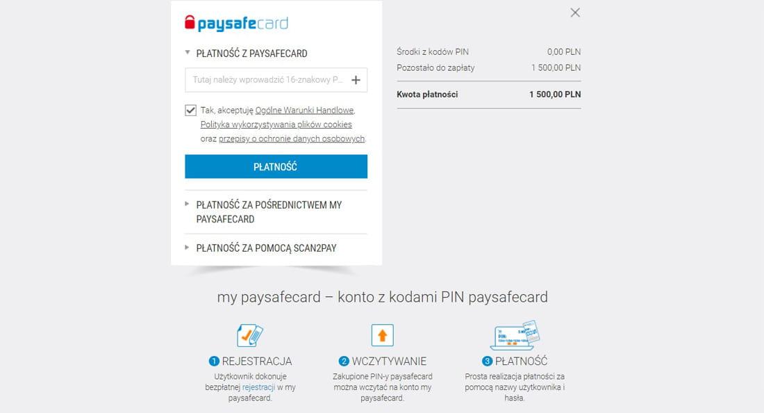 Bukmacherzy paysafecard 2021 I płać bezpiecznie u bukamcherów